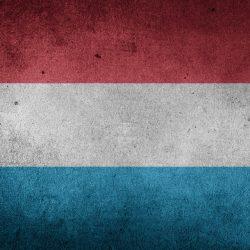 le drapeau du Luxembourg